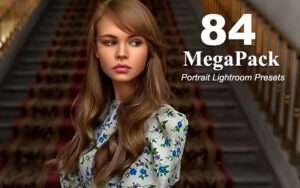 دانلود 84 پریست لایتروم عکس پرتره Portrait Lightroom Presets MegaPack