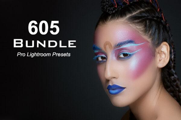 مجموعه 605 پریست حرفه ای لایتروم Pro Lightroom Presets Bundle