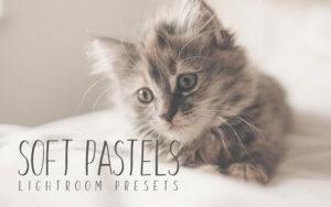 10 پریست لایت روم تم رنگ رویایی Soft Pastel Lightroom Presets