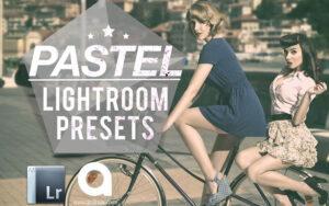 10 پریست لایت روم رنگ پاستلی ملایم Pastels Lightroom Presets