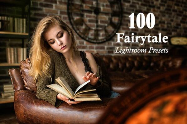 100 پریست لایت روم تم رنگ افسانه ای Fairytale Lightroom Presets