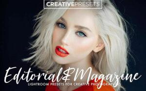 30 پریست لایت روم طراحی مجلات Editorial Magazine Lightroom Preset