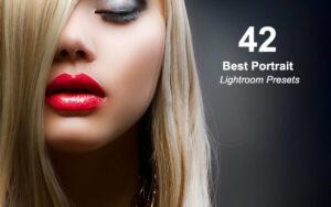 42 پریست لایت روم برای عکس های پرتره Best Portrait Lightroom Presets