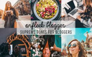 48 پریست لایت روم و کمرا راو تم بلاگرها ONFleek Bloggers Lightroom Presets