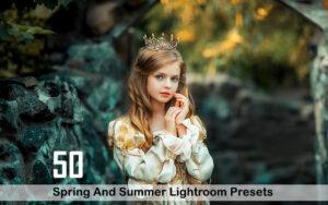 50 پریست لایت روم فصل بهار و تابستان Spring And Summer Lightroom Presets