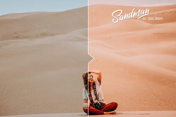 دانلود ۲۰ پریست سینمایی لایت روم و Camera Raw فتوشاپ Sandman 20 Cinematic Presets