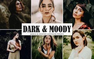 دانلود 34 پریست لایت روم و کمراراو Dark & Moody Mobile And Desktop Lightroom Presets