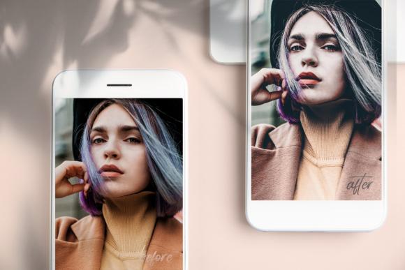 100 پریست لایت روم موبایل Mobile Lightroom Preset Bundle Graphic