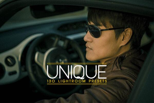 130 پریست رنگی لایت روم افکت سینمایی Unique Lightroom Presets