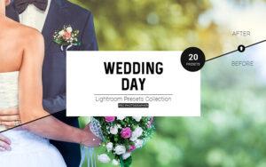 20 پریست لایت روم مخصوص عکس عروسی Wedding Day LR Presets