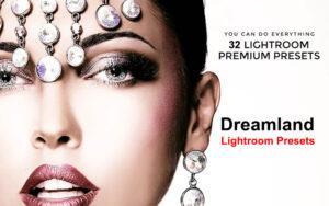 32 پریست رنگی لایت روم تم سرزمین رویایی Dreamland Lightroom Presets