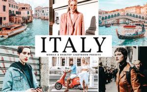 34 پریست لایت روم و کمرا راو تم ایتالیا Italy Mobile And Desktop Lightroom Presets