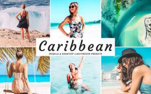 34 پریست لایت روم و کمرا راو تم دریای کارائیب Caribbean Mobile And Desktop Lightroom Presets
