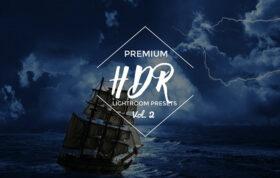15 پریست لایت روم کنتراست نور افکت اچ دی آر Pre-HDR Lightroom Vol. 2