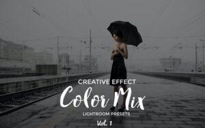 20 پریست رنگی لایت روم تم میکس رنگی Color Mix Presets Lightroom Vol. 1