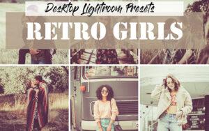 20 پریست لایت روم دسکتاپ تم قدیمی Lightroom Retro Girls Presets