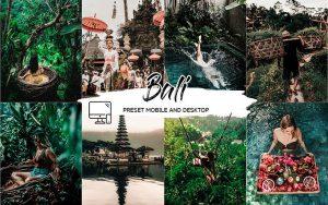 پریست لایت روم حرفه ای تم جزیره بالی اندونزی Bali Lightroom Presets