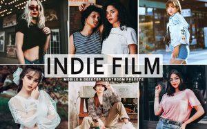 پریست لایت روم سینماتیک و پریست کمرا راو و اکشن فتوشاپ Indie Film Pro Lightroom Presets