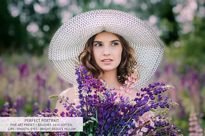 پکیج پریست لایت روم و براش لایت روم پرتره Portrait Pro Complete Collection