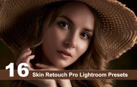16 پریست لایت روم رتوش چهره پرتره Skin Retouch Pro Lightroom Presets