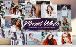 28 پریست لایت روم تم روشن پر انرژی Vibrant White Lightroom Presets