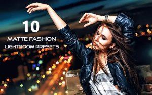 ۱۰ پریست لایت روم حرفه ای فشن و اسپرت Matte Fashion Lightroom Presets