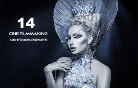 ۱۴ پریست رنگی سینمایی لایت روم دسکتاپ Cine Filmmaking Lightroom Presets