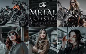 ۱۵ پریست لایت روم حرفه ای و پریست کمرا راو فتوشاپ تم فلز Artistic Metal Lightroom Presets