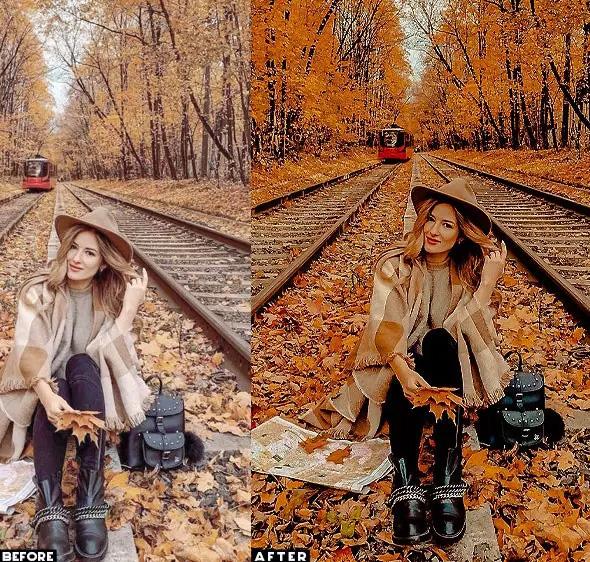 ۱۵ پریست لایت روم پاییز و پریست کمرا راو فتوشاپ Autumn Lifestyles Lightroom Presets