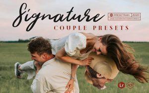 ۲۰ پریست حرفه ای آماده عروسی برای لایتروم Signature Lightroom Presets