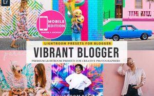 ۲۰ پریست لایت روم تم وبلاگ نویس شاد Vibrant Blogger Lightroom