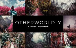 ۲۰ پریست لایت روم و پریست کمرا راو و لات رنگی دنیای عجایب Otherworldly LR Presets