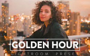 ۳۰ پریست رنگی حرفه ای لایت روم تم طلایی GOLDEN HOUR Lightroom Preset