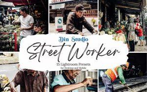 ۳۰ پریست رنگی لایت روم حرفه ای تم کار خیابانی Street Worker Lightroom Presets