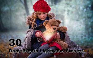 ۳۰ پریست لایت روم حرفه ای کودک Baby Breath Lightroom Presets