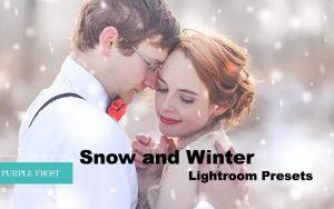 ۳۲ پریست رنگی زمستانی لایت روم و براش لایتروم Snow and Winter Lightroom Presets