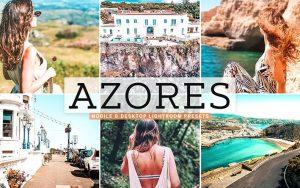 ۴۰ پریست لایت روم و پریست کمرا راو و اکشن فتوشاپ آزور پرتغال Azores Lightroom Presets