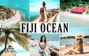 ۴۰ پریست لایت روم و پریست کمرا راو و اکشن فتوشاپ اقیانوس فیجی Fiji Ocean Lightroom Presets