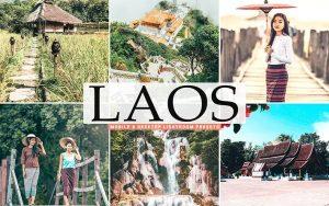 ۴۰ پریست لایت روم و پریست کمرا راو و اکشن فتوشاپ تم لائوس Laos Lightroom Presets