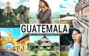 ۴۰ پریست لایت روم و پریست کمرا راو و اکشن فتوشاپ تم گواتمالا Guatemala Lightroom Presets