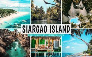 ۴۰ پریست لایت روم و پریست کمرا راو و اکشن فتوشاپ جزیره سیارگائو Siargao Island Lightroom Presets