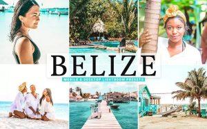 ۴۰ پریست لایت روم و پریست کمرا راو و اکشن فتوشاپ کشور بلیز Belize Lightroom Presets