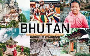 ۴۰ پریست لایت روم و پریست کمرا راو و اکشن فتوشاپ کشور بوتان Bhutan Lightroom Presets