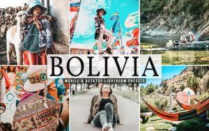 ۴۰ پریست لایت روم و پریست کمرا راو و اکشن فتوشاپ کشور بولیوی Bolivia Lightroom Presets