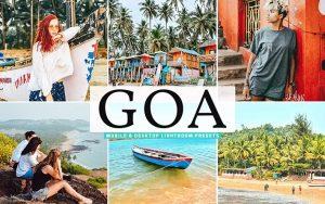 ۴۰ پریست لایت روم و پریست کمرا راو و اکشن فتوشاپ گوا هندوستان Goa Lightroom Presets