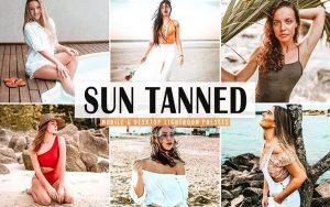 ۴۰ پریست لایت روم و پریست Camera Raw و اکشن فتوشاپ تم برنزه Sun Tanned Pro Lightroom Presets