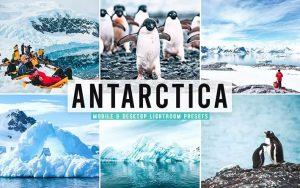 ۴۰ پریست لایت روم و پریست Camera Raw و اکشن فتوشاپ تم قطب جنوب Antarctica Pro Lightroom Presets