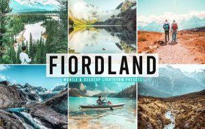 ۴۰ پریست لایت روم و پریست Camera Raw و اکشن فتوشاپ Fiordland Pro Lightroom Presets