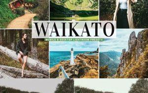 ۴۰ پریست لایت روم و پریست Camera Raw و اکشن فتوشاپ Waikato Pro Lightroom Presets