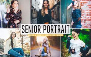 ۴۰ پریست لایت روم پرتره و پریست Camera Raw و اکشن فتوشاپ Senior Portrait Pro Lightroom Preset